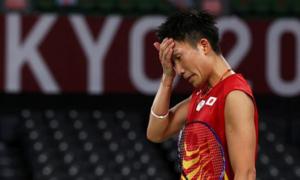 Kento Momota bị loại ngay vòng bảng Olympic