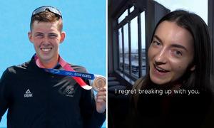 Bạn gái cũ tiếc vì bỏ VĐV vừa đoạt huy chương Olympic