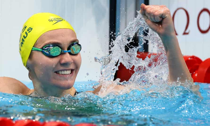 Titmus hứa hẹn thành sao sáng nhất ở Olympic 2020. Ảnh: Guardian