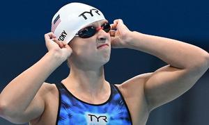Ledecky thất bại vì lịch bơi dày đặc ở Olympic