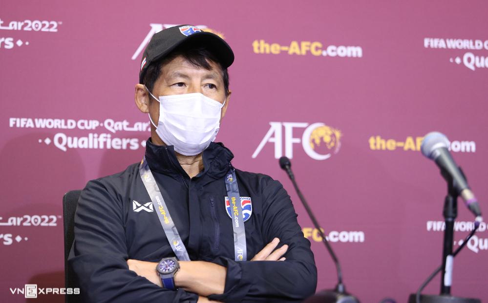 HLV Nishino bị sa thải khi Thái Lai để mất vị trí số một Đông Nam Á vào tau Việt Nam. Ảnh: Lâm Thoả