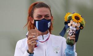 Bó hoa tặng VĐV tại Olympic 2020 đặc biệt thế nào