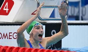 Kỷ lục thế giới đầu tiên của cá nhân bị phá ở Olympic 2020