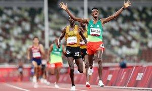VĐV Ethiopia đoạt HC vàng điền kinh đầu tiên của Tokyo 2020