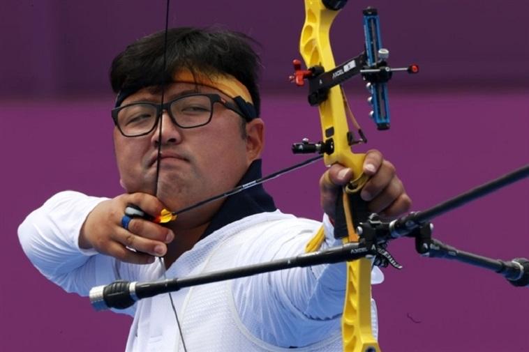 Kim Woo-jin là niềm hy vọng số một của Hàn Quốc ở nội dung đơn nam nhưng chỉ vào tới tứ kết. Ảnh: Koreatimes