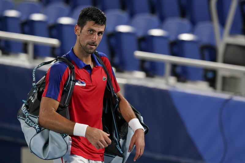 Djokovic kalah di semifinal tunggal putra Olimpiade ketiganya.  Dia akan berusia 37 tahun ketika Olimpiade berikutnya berlangsung pada 2024 di Paris.  Foto: NBC