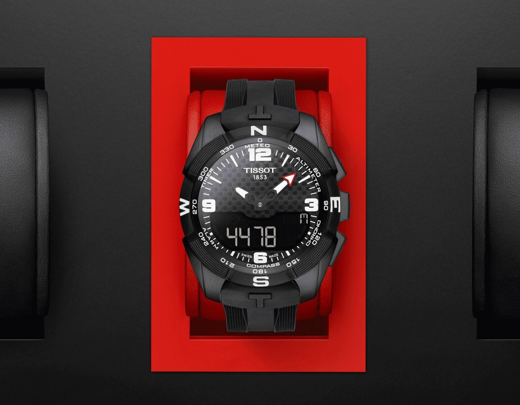 Tissos T-Touch Expert Solar Watch T091.420.47.057.01.