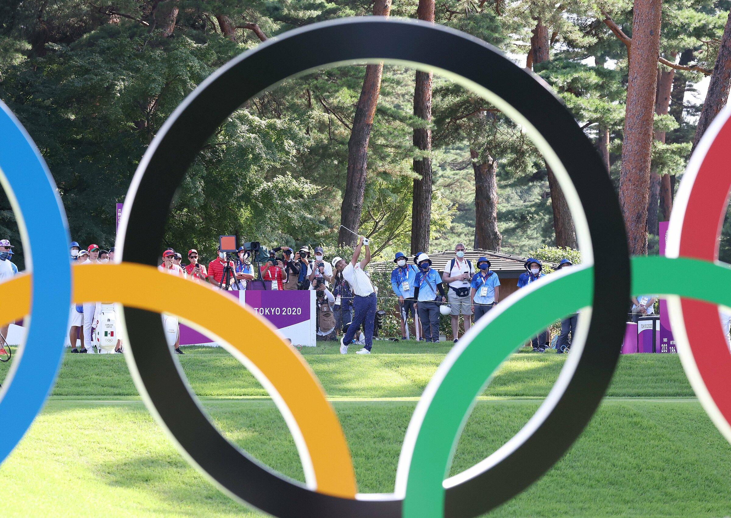 Schaufele đang dẫn đầu đoàn tranh huy chương golf Olympic Tokyo 2020. Ảnh: Tokyo 2020