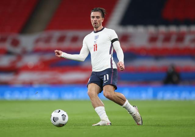 Tại Euro, Jack Grealish kiến tạo cho Sterling và Kane ghi bàn. Ảnh: Reuters.