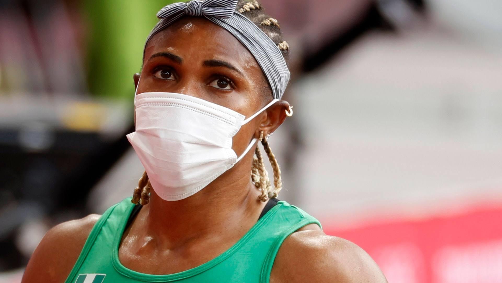 Okagbare là VĐV đầu tiên bị đình chỉ khi đang thi đấu tại Olympic Tokyo 2020. Ảnh: Reuters