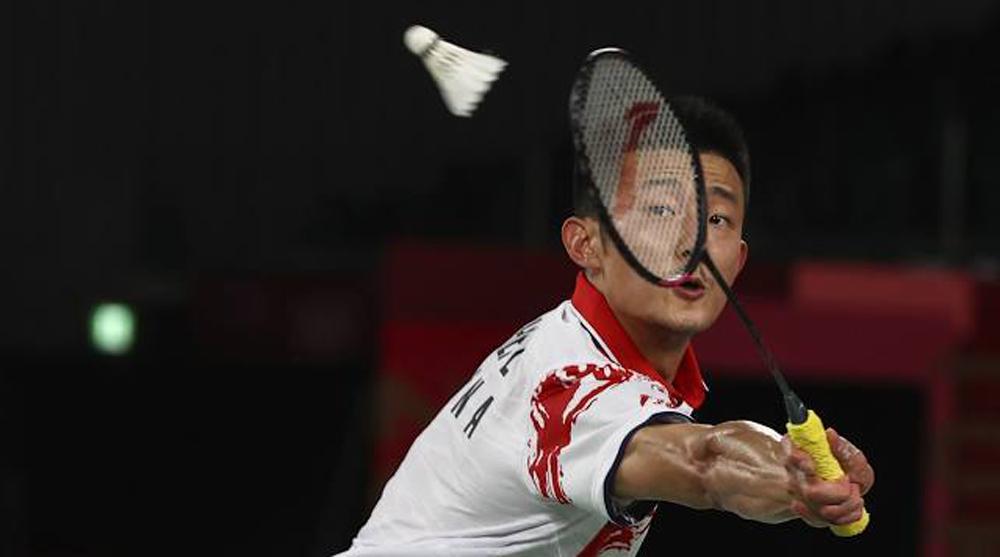 Chen Long không thể lập hat-trick HC vàng Olympic khi để thua 0-2 tối 2/8. Ảnh: AFP