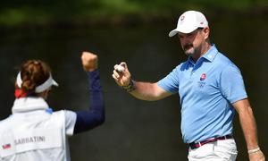 Cuộc hôn nhân giúp Slovakia đoạt HC bạc golf Olympic