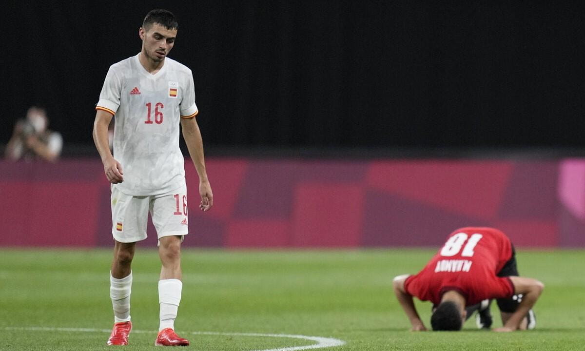 Pedri chưa được nghỉ ngơi sau khi thi đấu liên tục từ Euro đến Olympic. Ảnh: AFP.
