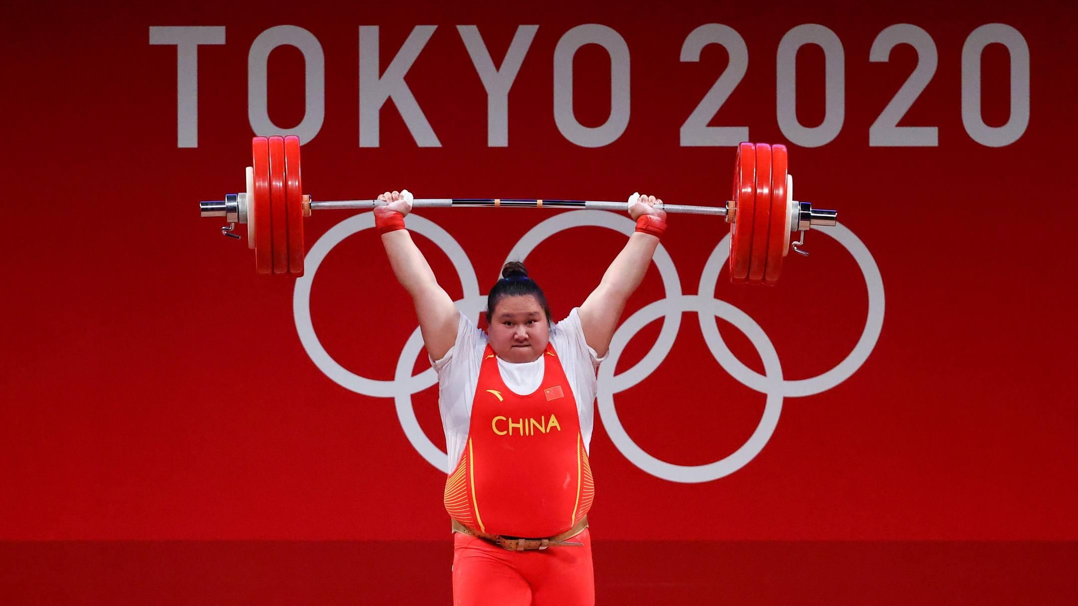 Li không có đối thủ ngay lần đầu tiên dự Olympic. Ảnh: Reuters