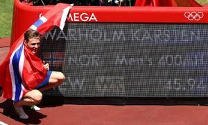 VĐV Na Uy hai lần lập kỷ lục thế giới trong 34 ngày