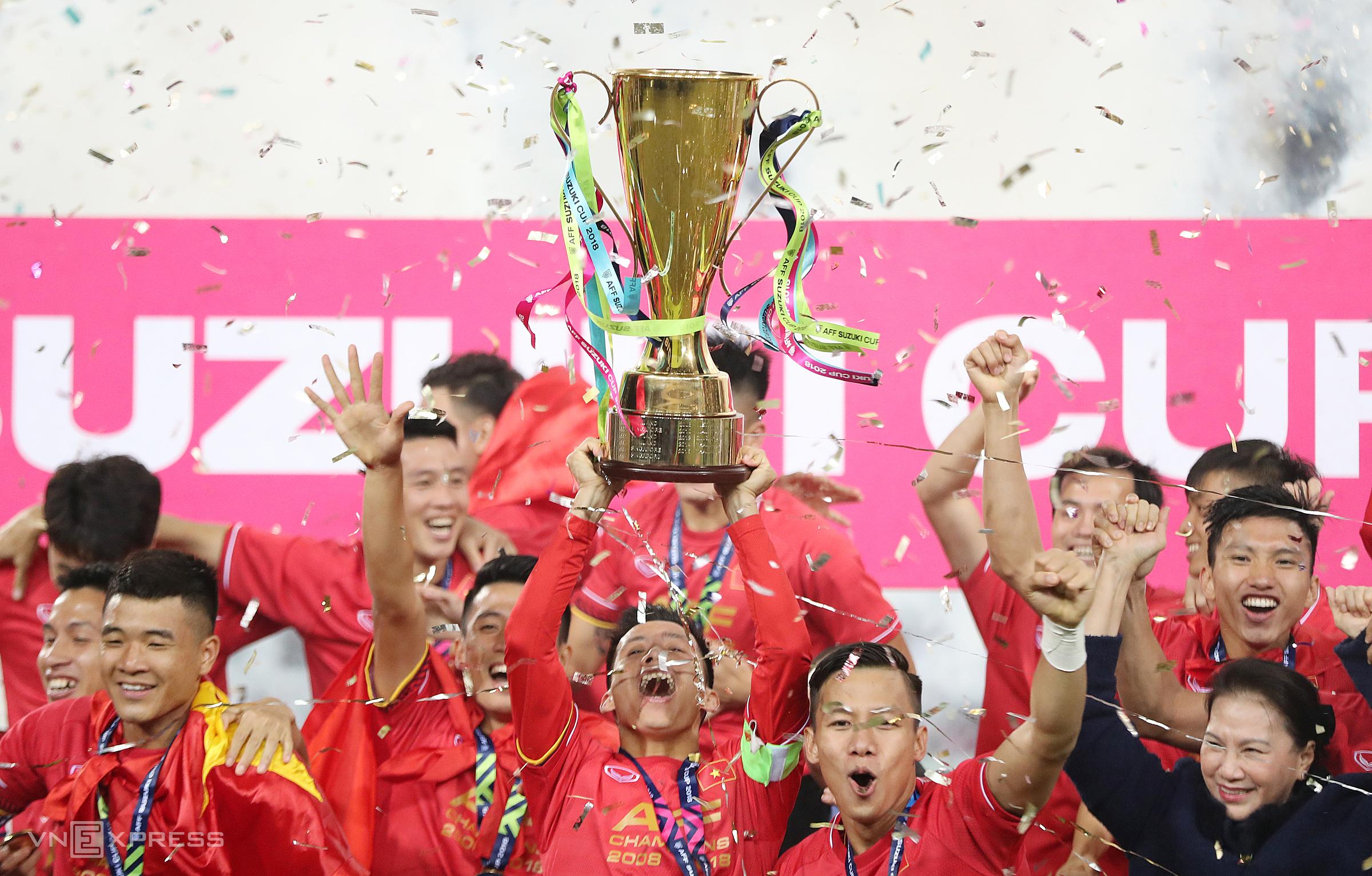 """หากไทยเป็นเจ้าภาพ AFF Cup 2020 เวียดนามจะสูญเสียความได้เปรียบในสนามเพื่อรักษาแชมป์  ภาพถ่าย: """"Duc Dong."""