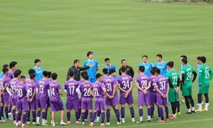 Đội tuyển Việt Nam bắt đầu tập luyện