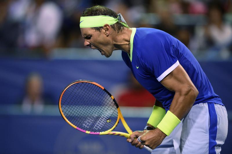 Nadal mới đoạt hai danh hiệu mùa này, gồm Rome Masters và Barcelona Mở rộng. Ảnh: AP