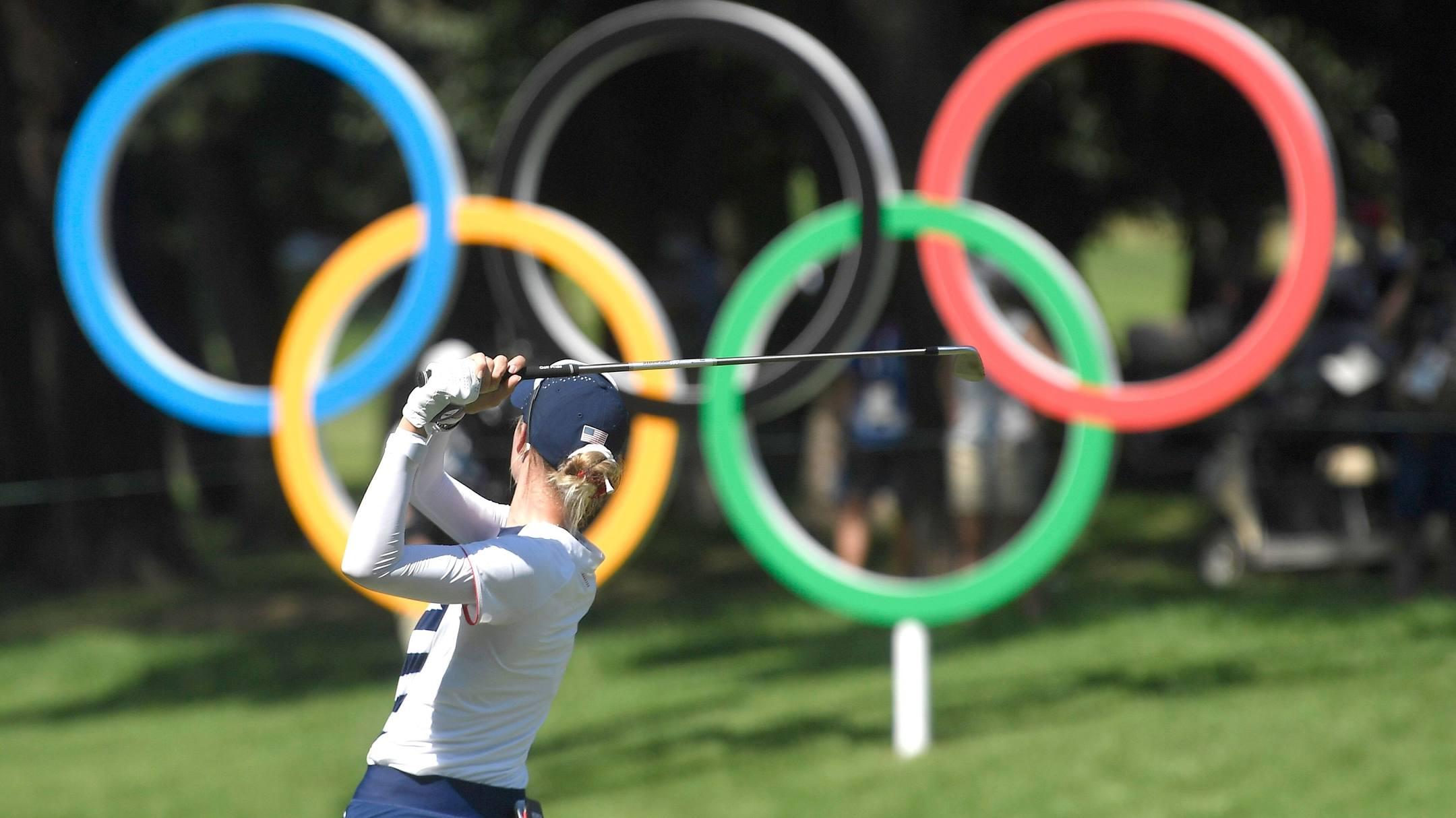 Ban tổ chức vẫn muốn tranh thủ thời gian để nội dung golf nữ Olympic Tokyo 2020 hoàn tất 72 hố quy chuẩn. Ảnh: Reuters