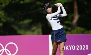 Golf Olympic suýt ghi nhận cú đúp hiếm