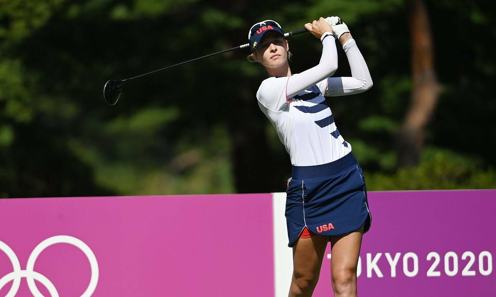 Nelly Korda lost the historic muscle because of her performance in the roundabout hole.  Photo: Reuters