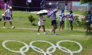 Golf nữ Olympic có thể sớm hạ màn vì bão