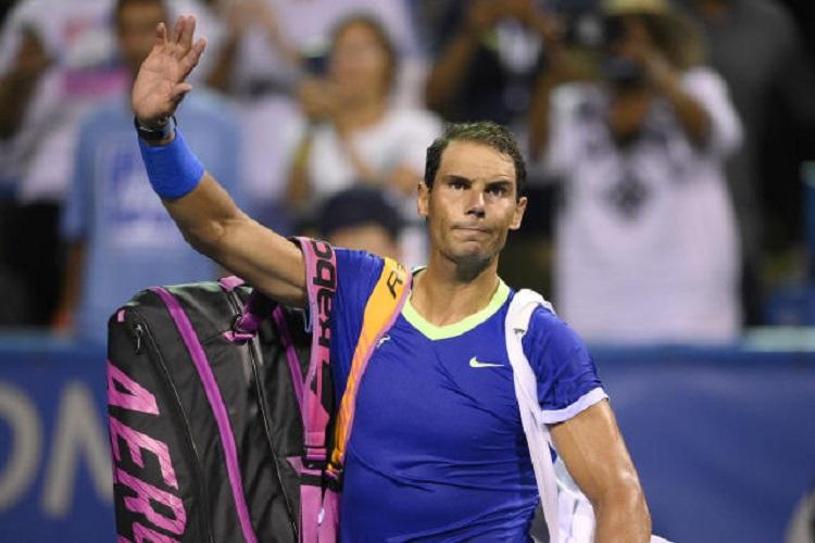 Sau khi thua sớm ở Citi Open, Nadal sẽ dự Rogers Cup - sự kiện Masters 1000 đầu tiên trong chuỗi giải tiền Mỹ Mở rộng, vào tuần tới. Ảnh: ATP