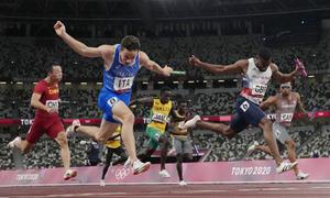 Khác biệt 1% giây giúp Italy giành HC vàng 4x100m
