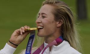 Nelly Korda đoạt HC vàng golf nữ Olympic