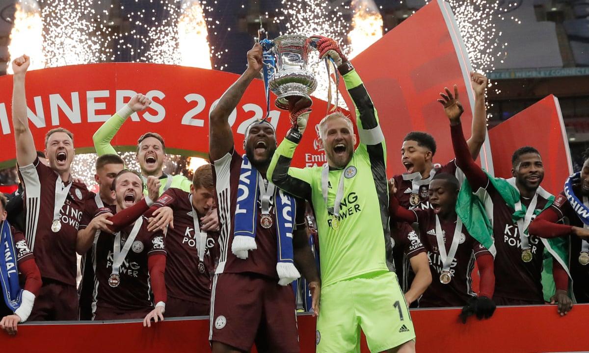 Leicester đoạt Cup FA mùa trước. Ảnh: Ảnh: Guardian