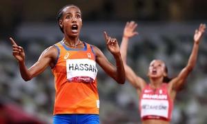 Sifan Hassan giành cú đúp vàng ở Tokyo 2020