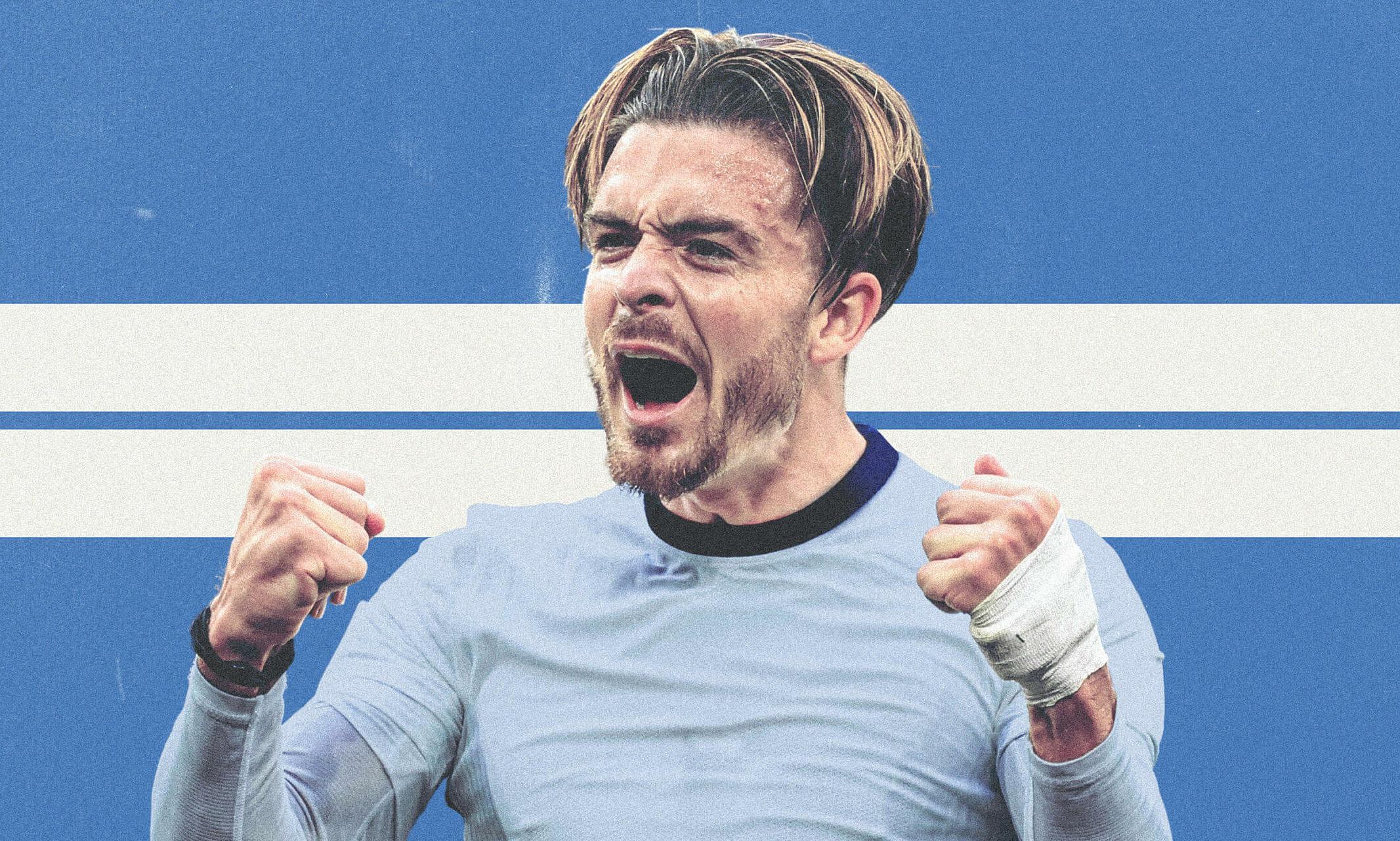 Trận Siêu Cup Anh hôm nay là cơ hội để Grealish trình làng trong màu áo mới sau thương vụ kỷ lục từ Aston Villa sang Man City. Ảnh: Athletic