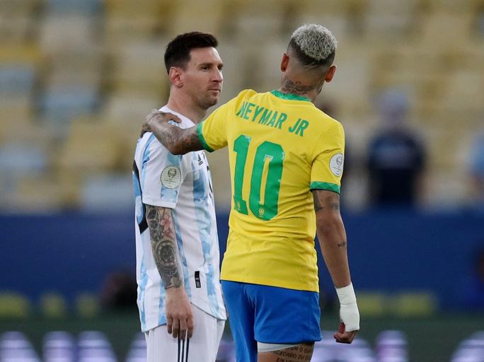 Messi và Neymar chuẩn bị tái ngộ trong màu áo PSG. Ảnh: Reuters.