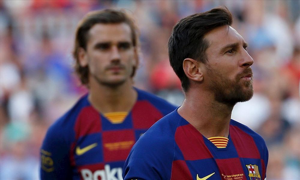 Griezmann sẽ có cơ hội toả sáng mà không bị kèm cặp trong chiếc bóng quá lớn của Messi như hai năm qua. Ảnh: FCBarcelona