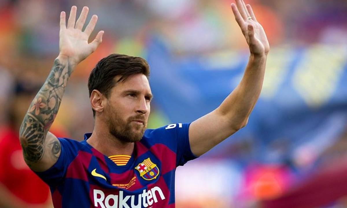 Messi có thể nói chia tay Barca hôm nay. Ảnh: EFE.