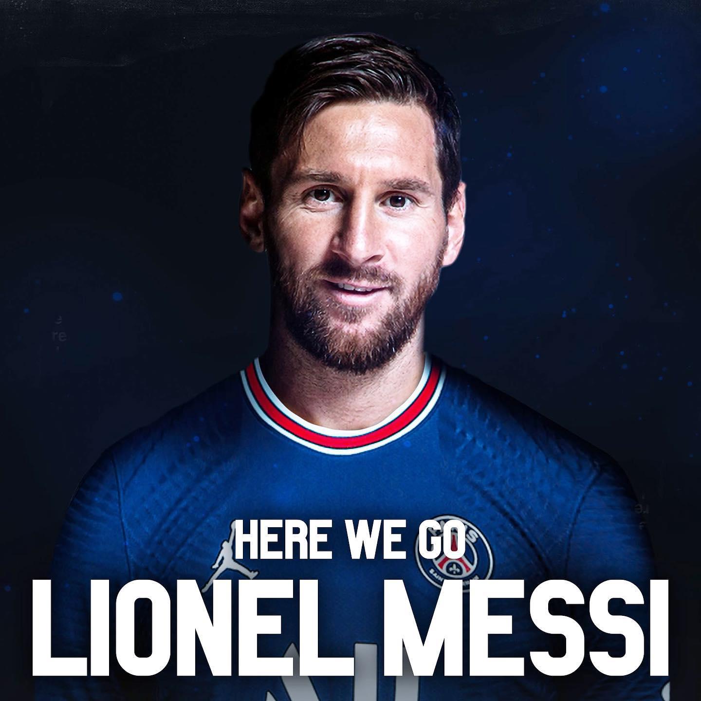 Bức ảnh được Romano đăng kèm thông báo về việc Messi và PSG đạt mọi thoả thuận hợp đồng.