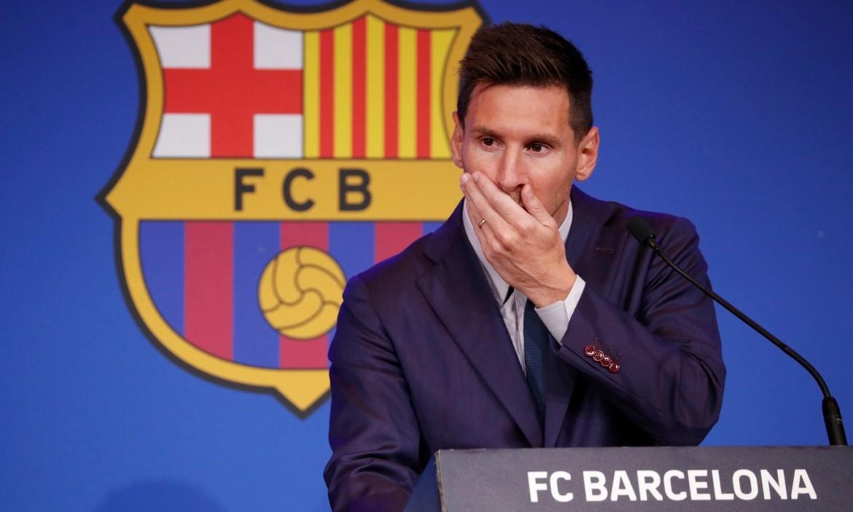 ความหวังของ Barca ในการรักษา Messi นั้นบางเฉียบ  ภาพ: สำนักข่าวรอยเตอร์