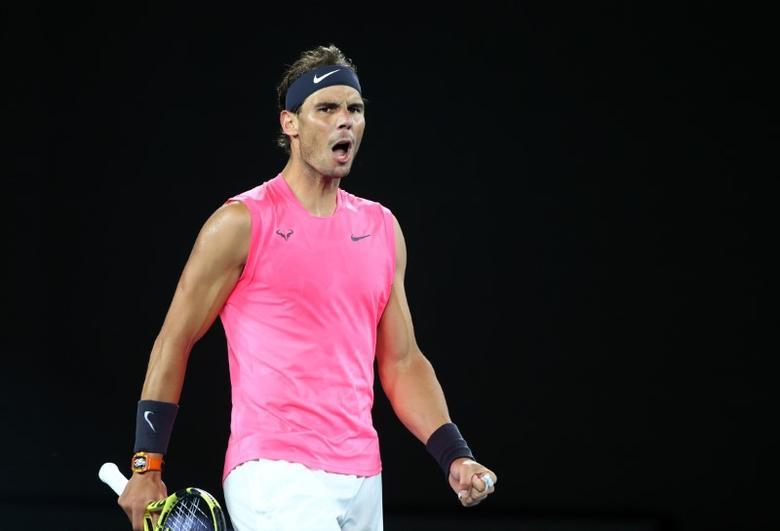 Giống Messi, Nadal là một trong những nhân vật vĩ đại nhất trong môn thể thao của mình. Ảnh: Reuters.