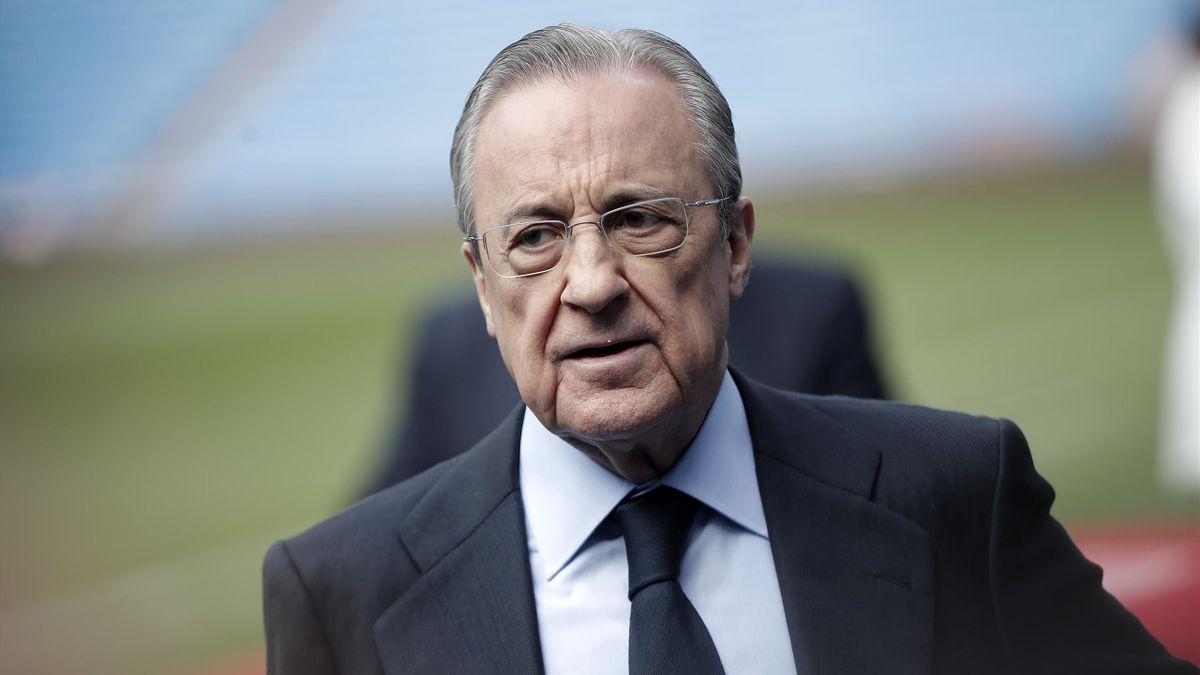 Perez bác bỏ mọi cáo buộc của cựu cố vấn Barca Llopis trong việc Messi rời CLB xứ Catalonia. Ảnh: EFE