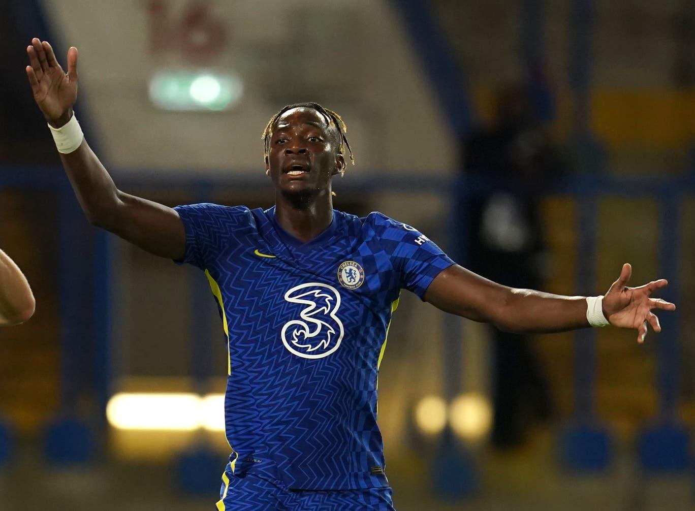 Chelsea chỉ muốn bán Abraham ra nước ngoài để giải phóng đội hình và có thêm ngân quỹ tậu Lukaku. Ảnh: PA Wire