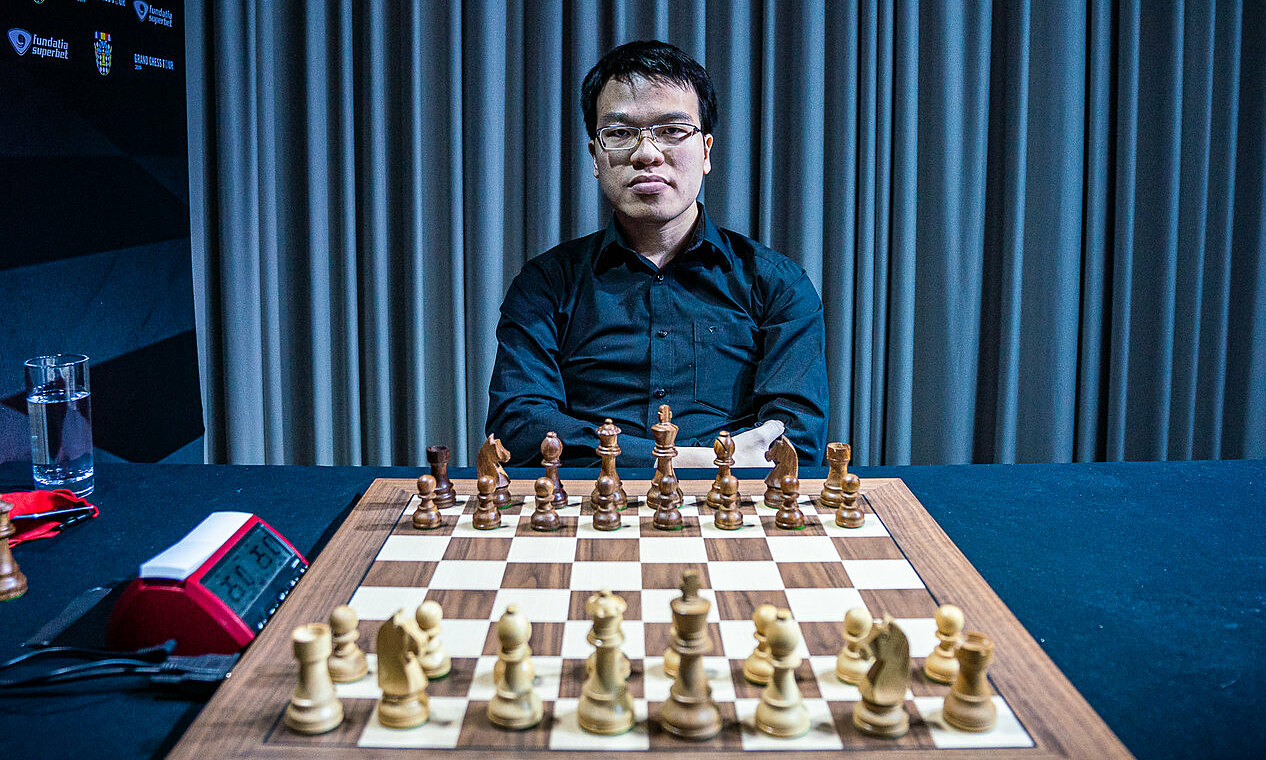 All three of Quang Liem's first opponents in the St Louis super tournament are in the top 10 in the world of standard chess.  Photo: GCT