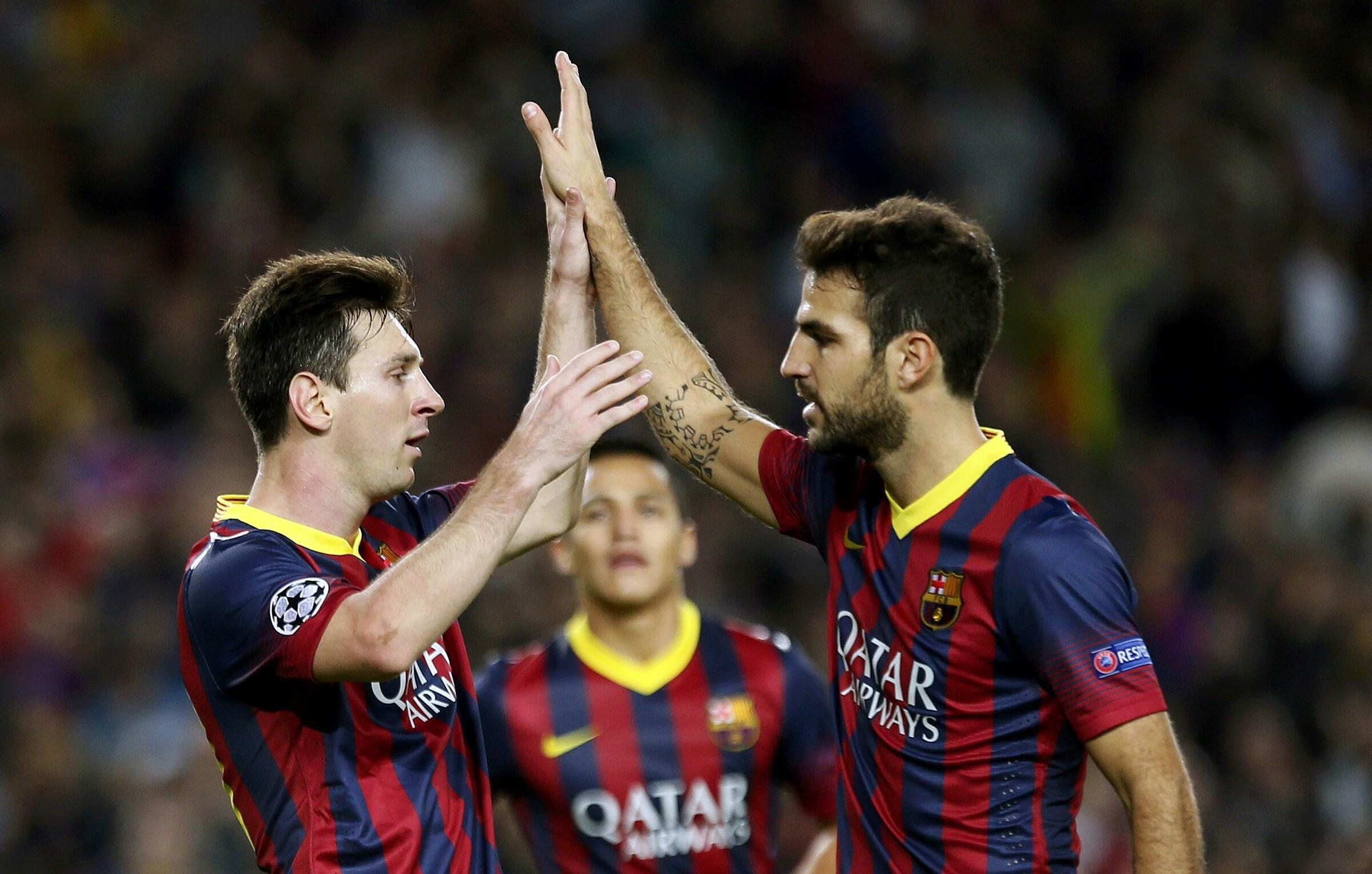 Fabregas háo hức đối đầu Messi-casino tặng tiền cược miễn phí cho thành viên mới-đánh bài online tiền thật-TB88