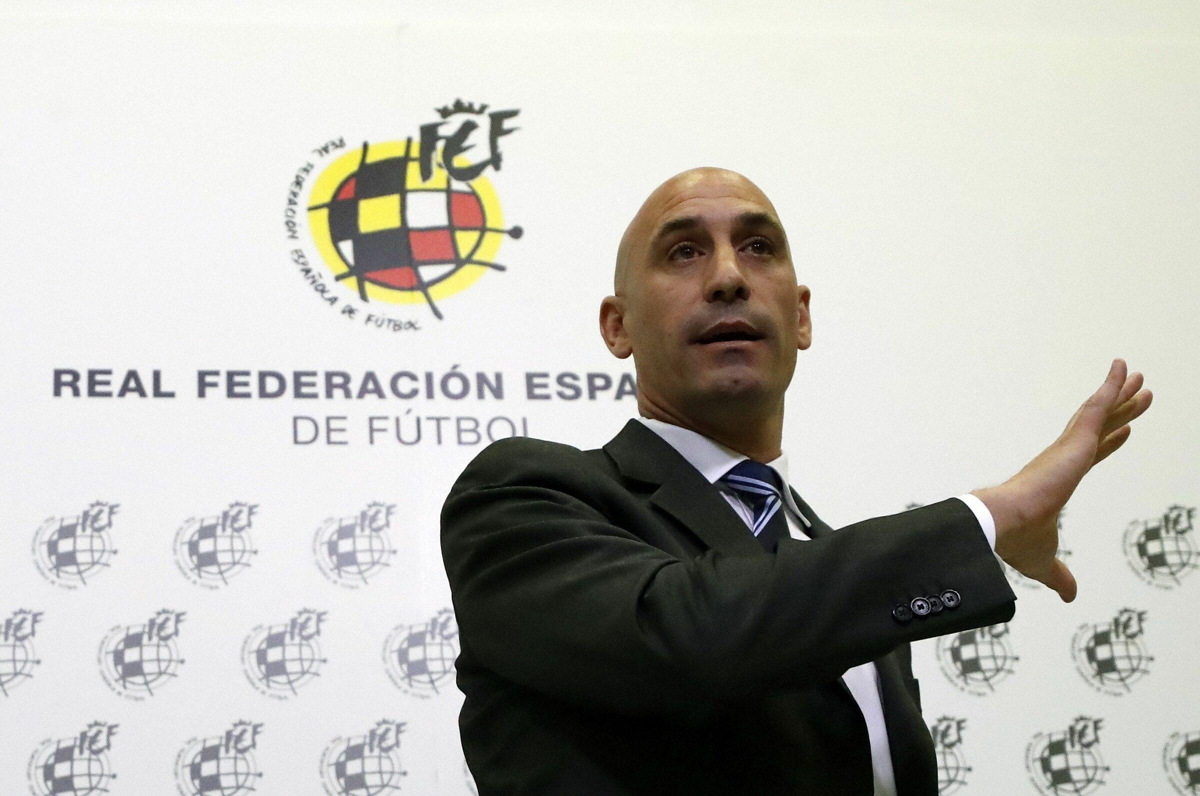 Chủ tịch LĐBĐ Tây Ban Nha (RFEF) Luis Rubiales. Ảnh: RFEF