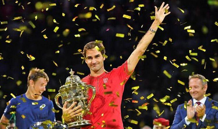 Lần gần nhất Federer vô địch là tại giải Basel 2019. Ảnh: ATP