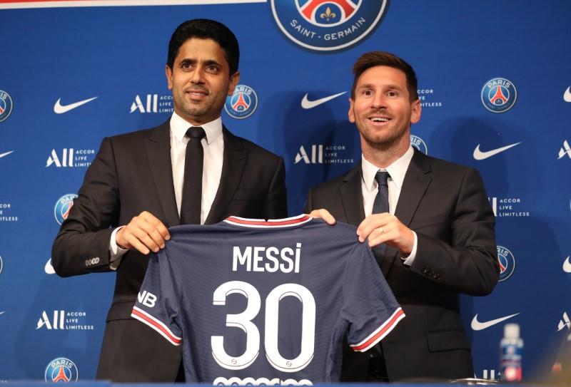 การเซ็นสัญญากับ Messi ช่วยให้ PSG ส่งเสริมสกุลเงินดิจิทัลของตัวเอง  ภาพ: สำนักข่าวรอยเตอร์