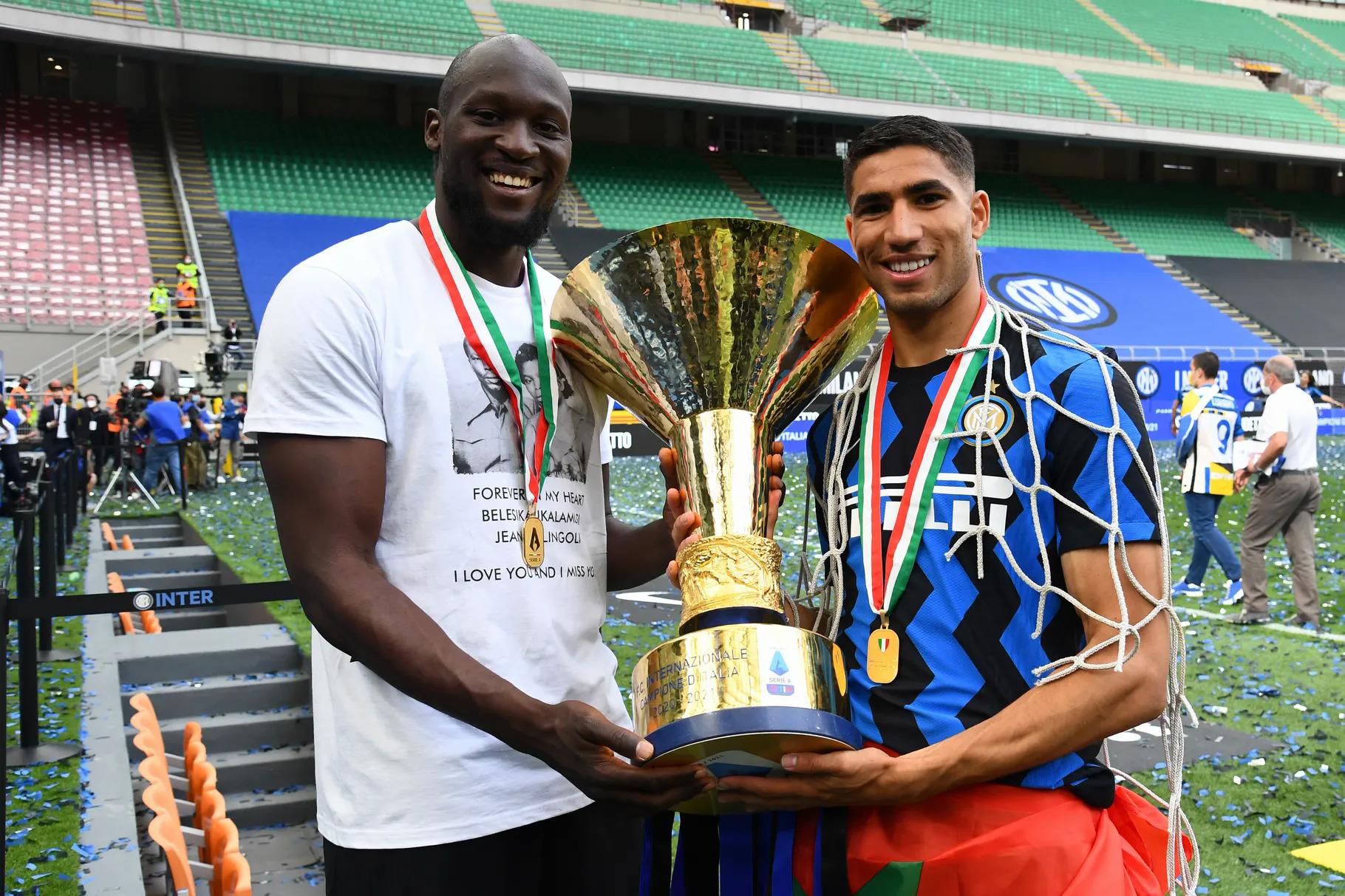 Nhờ bán Lukaku và Hakimi, Inter thu về hơn 200 triệu USD trong hè này. Ảnh: Inter.it