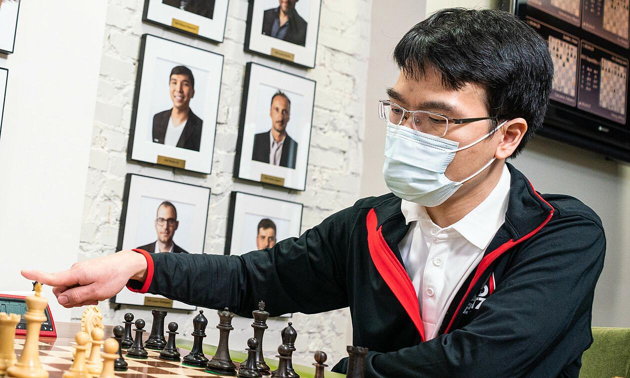 Quang Liêm mất 29 Elo cờ nhanh, nhưng giành tới 84 Elo cờ chớp sau siêu giải St Louis. Ảnh: Grand Chess Tour/Lennart Ootes