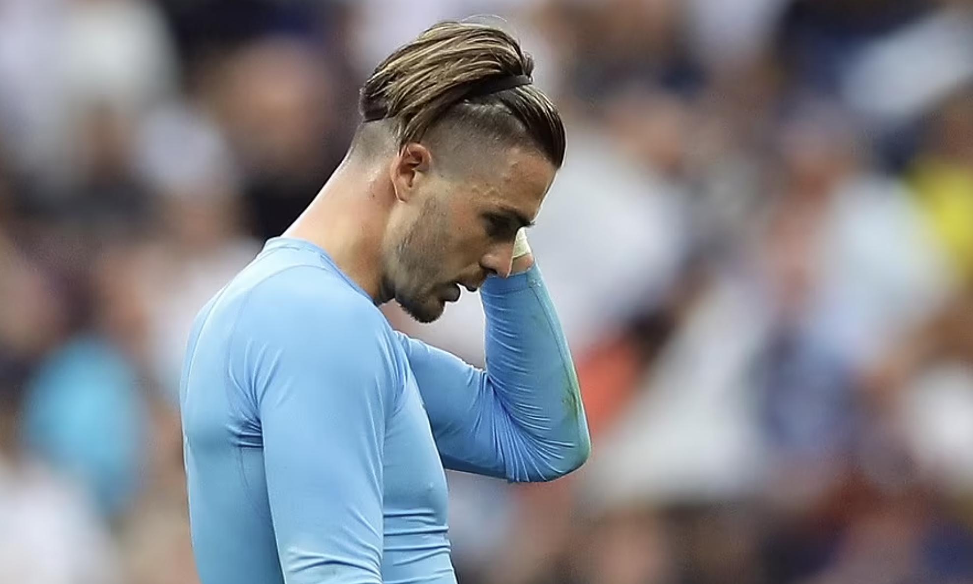 Tân binh 100 triệu bảng Jack Grealish chơi nỗ lực nhưng không thể giúp Man City ghi bàn. Ảnh: Reuters