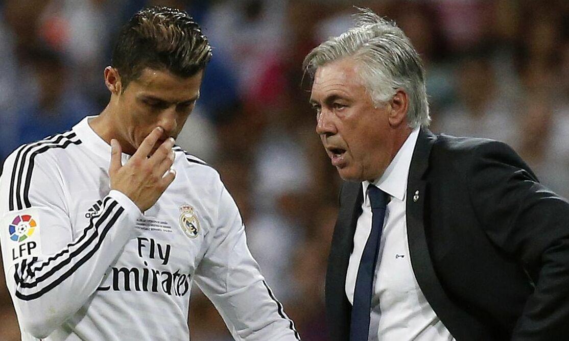 """Ancelotti ต้องการรวมตัวกับ Ronaldo ที่ Real แต่ยังไม่ได้รับการอนุมัติจากประธานาธิบดี Perez  ภาพถ่าย: """"Eurosport ."""""""