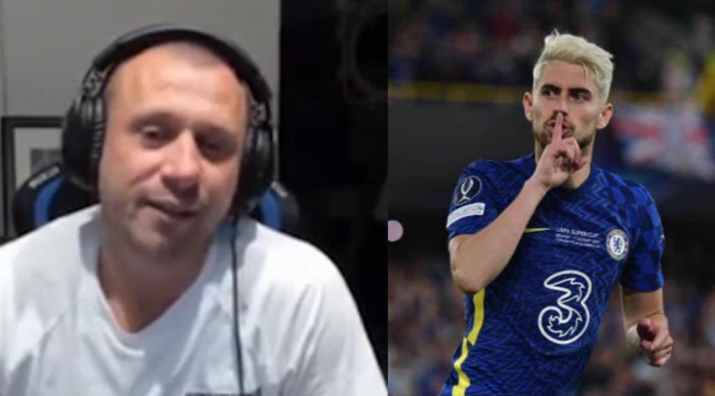 Cassano (ซ้าย) พูดถึง Jorginho และการแข่งขัน Ballon d'Or ระหว่างการถ่ายทอดสด Twitch กับ Vieri